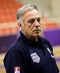 Constandinos Missas, head coach of Greece  during practice session of Greek National team 1 day prior to the basketball match between National Teams of Lithuania and Greece in Round of 16 of the FIBA EuroBasket 2017, at Ahmet Cömert Sports Hall in Istanbul, Turkey on September 8, 2017. Photo by Vid Ponikvar / Sportida