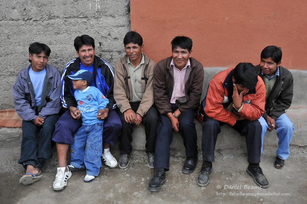 Afternoon in Quiabaya, near Sorata, Bolivia