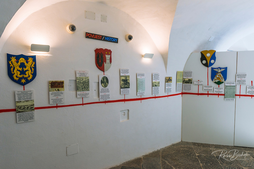 Displays in the Natural History Museum, Brod, Croatia