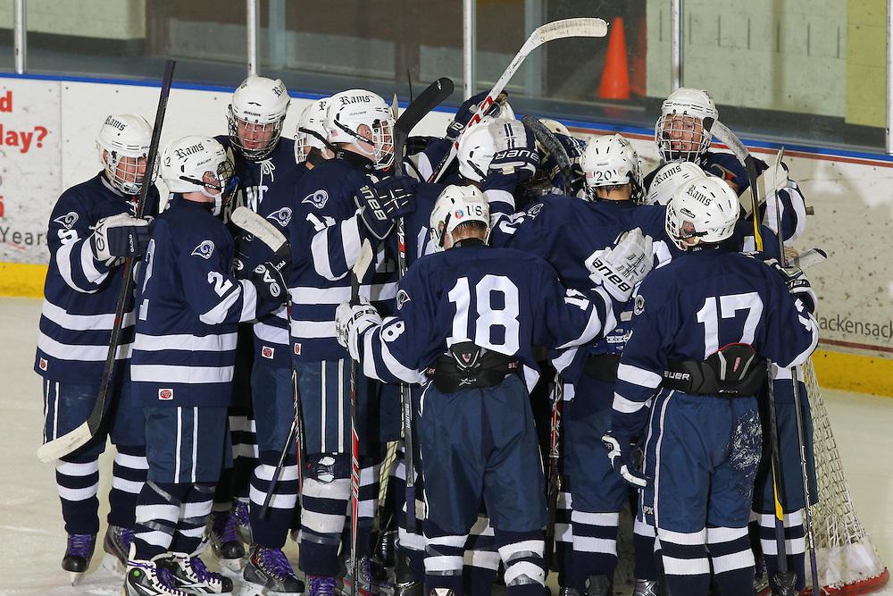 12-27-13 Ice Hockey: Randolph vs Morristown-Beard