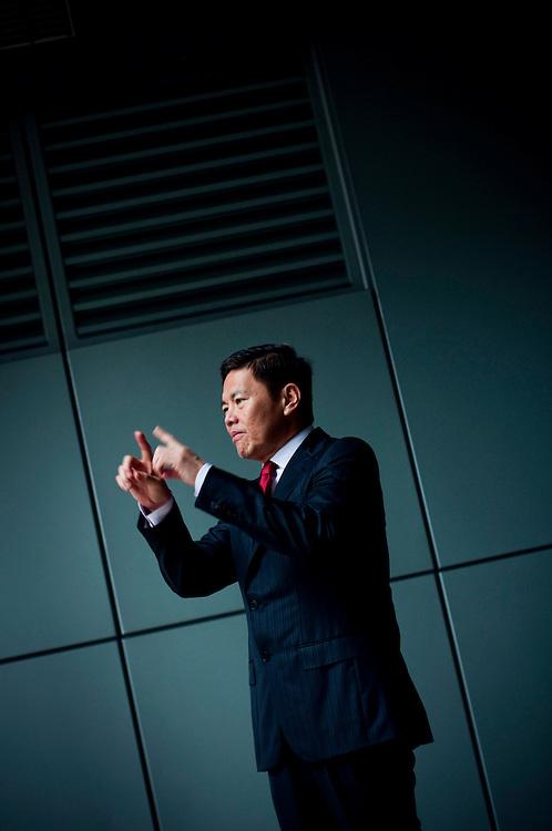Allen Lew, CEO Singtel, Singapore..Photographer: Chris Maluszynski /MOMENT