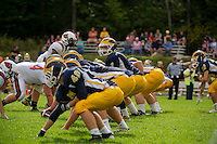 Bow versus Stevens varsity high school football at Bow High School.    © 2013 Karen Bobotas / for the Concord Monitor