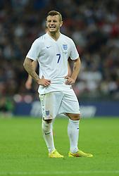 England's Jack Wilshere (Arsenal) - Photo mandatory by-line: Alex James/JMP - Mobile: 07966 386802 - 3/09/14 - SPORT - FOOTBALL - London - Wembley Stadium - England v Norway - International Friendly