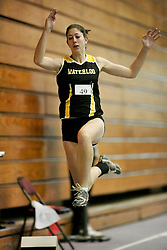 London, Ontario ---11-01-22---   Katrina VanDervoort of the Waterloo Warriors competes at the 2011 Don Wright meet at the University of Western Ontario, January 22, 2011..GEOFF ROBINS/Mundo Sport Images.