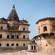 Chhatris at Orchha, India