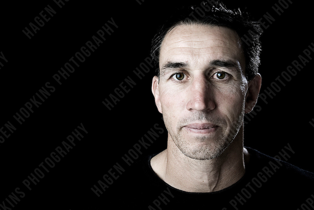 TELEVISION PERSONALITY AND FORMER ALL BLACK, IAN JONES