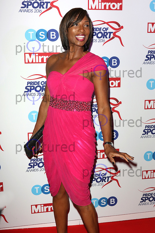 Denise Lewis, Pride of Sport Awards, Grosvenor House Hotel, London UK, 07 December 2016, Photo by Richard Goldschmidt