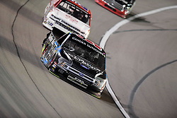 March 1, 2019 - Las Vegas, Nevada, U.S. - LAS VEGAS, NV - MARCH 01: Ben Rhodes (99) ThorSport Ford F-150 racing during the Gander Outdoors Truck Series Strat 200 race on March 1, 2019, at Las Vegas Motor Speedway in Las Vegas, NV. (Photo by David Allio/Icon Sportswire) (Credit Image: © David Allio/Icon SMI via ZUMA Press)
