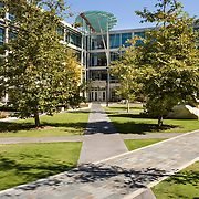 UCSD Academic Court<br /> Spurlock Poirier - University of California<br /> Spurlock Poirier (landscape designers for The Getty) designed this intimate open space on the University of California San Diego Campus in late 2005. This academic courtyard is bordered by three buildings created by architectural giants: NBBJ, Bohlin Cywinski Jackson & CO Architects. An enormous Tim Hawkinson sculpture anchors the center of the courtyard. Spurlock Poirier (landscape designers for The Getty Center in Los Angeles) designed this intimate open space on the University of California San Diego Campus in late 2005. This academic courtyard is bordered by three buildings created by architectural giants: NBBJ, Bohlin Cywinski Jackson & CO Architects. An enormous Tim Hawkinson sculpture anchors the center of the courtyard. San Diego Architectural Photographer, Southern California Architectural Photographer