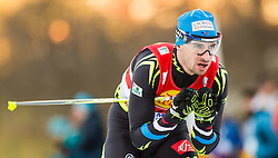 20.12.2014, Nordische Arena, Ramsau, AUT, FIS Nordische Kombination Weltcup, Staffel Langlauf, im Bild Sebastien Lacroix (FRA) // during Cross Country of FIS Nordic Combined World Cup, at the Nordic Arena in Ramsau, Austria on 2014/12/20. EXPA Pictures © 2014, EXPA/ JFK