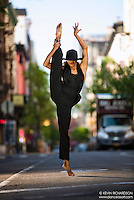 Dance As Art The New York City Photography Project Lower East Side Series with Alvin Ailey American Dance Theatredancer, Constance Stamatiou