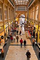 Madler Arcade (Madler Passage), Leipzig, Saxony, Germany