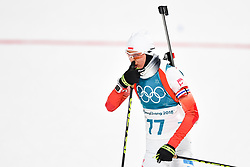 February 10, 2018 - Pyeongchang, South Korea - 180210 Monika Hojnisz of Poland competes in Women's Biathlon 7,5 km Sprint during day one of the 2018 Winter Olympics on February 10, 2018 in Pyeongchang..Photo: Petter Arvidson / BILDBYRN / kod PA / 87614 (Credit Image: © Petter Arvidson/Bildbyran via ZUMA Press)