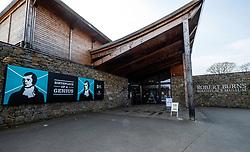 Exterior of  Robert Burns birthplace Museum in Alloway, Ayrshire, Scotland, UK