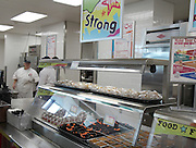 After the dedication, Atherton parents had a chance to sample some of the school menu items at the new campus.