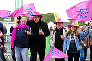 Stade Francais fans before the European Rugby Challenge Cup match between Gloucester Rugby and Stade Francais at BT Murrayfield, Edinburgh, Scotland on 12 May 2017. Photo by Kevin Murray.