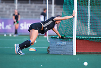AMSTELVEEN - Marijn Veen (A'dam)    tijdens de  training van de dames van Amsterdam (AH&BC) voor de eerste competitiewedstrijd. COPYRIGHT KOEN SUYK
