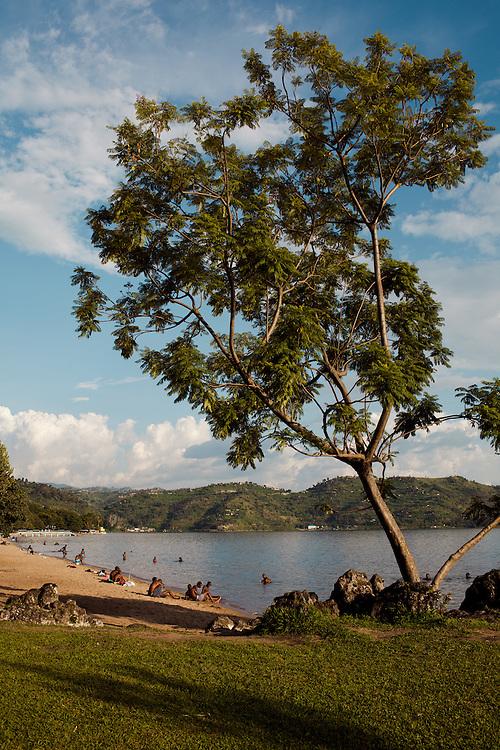 Shores of Lake Kivu, Rwanda