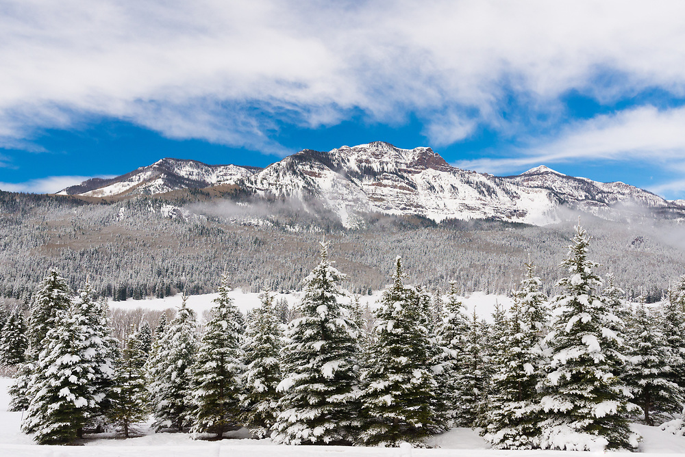 A picture taken on Wolf Creek Pass in Colorado right after a winter storm.<br /> <br /> Camera <br /> NIKON D610<br /> Lens <br /> 18.0-35.0 mm f/3.5-4.5<br /> Focal Length <br /> 35<br /> Shutter Speed <br /> 1/1500<br /> Aperture <br /> 8<br /> ISO <br /> 800