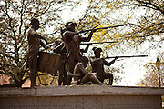 Monument to Haitian soldiers who fought in the American Revolutionary War in Savannah, Georgia, USA.