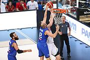 Stoppata Cusin Marco, Nazionale italiana maschile senior - Trentino basket cup 2017 ITALIA - BIELORUSSIA ITALY BELARUS, FIP 2017, Trento 29/07/2017 foto Ciamillo-Castoria/Bertani