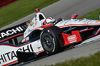Helio Castroneves, Mid Ohio Sports Car Course, Lexington, OH USA 8/3/2014