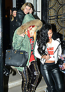 18.NOVEMBER.2012. LONDON<br /> <br /> RITA ORA, CASSIE AND CARA DELEVINGNE LEAVING THE LITTLE HOUSE IN MAYFAIR.<br /> <br /> BYLINE: EDBIMAGEARCHIVE.CO.UK<br /> <br /> *THIS IMAGE IS STRICTLY FOR UK NEWSPAPERS AND MAGAZINES ONLY*<br /> *FOR WORLD WIDE SALES AND WEB USE PLEASE CONTACT EDBIMAGEARCHIVE - 0208 954 5968*