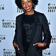 Jacqueline Shepherd attend TriForce Short Festival, on 30 November 2019, at BFI Southbank, London, UK.