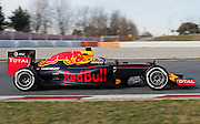 March 1, 2016 - Barcelona, Spain - <br /> <br /> BARCELONA -march 01- SPAIN: Daniil Kvyat and Red Bull during the F1 tests in the Barcelona-Catalunya Circuit, on march 01, 2016.<br /> ©Exclusivepix Media