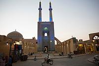 Iran, Yazd, 31.08.2016: Die Freitagsmoschee in Yazd, Provinz Yazd, Zentral-Iran.