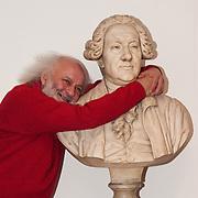 Portrait session with Russian clown Slava Polunin at Teatro Goldoni in Venice