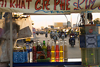 Beverages for Sale at Street Vendor