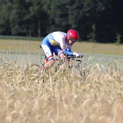 21-06-2017: Wielrennen: NK Tijdrijden: Montferland      <br />s-Heerenberg (NED) wielrennen<br />Remco Grasman werd derde op het NK