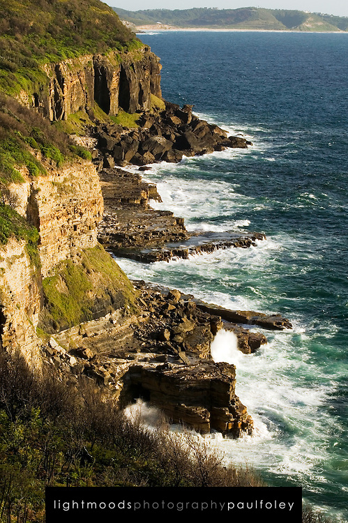 View of Awabakal Coast near Newcastle, Australia
