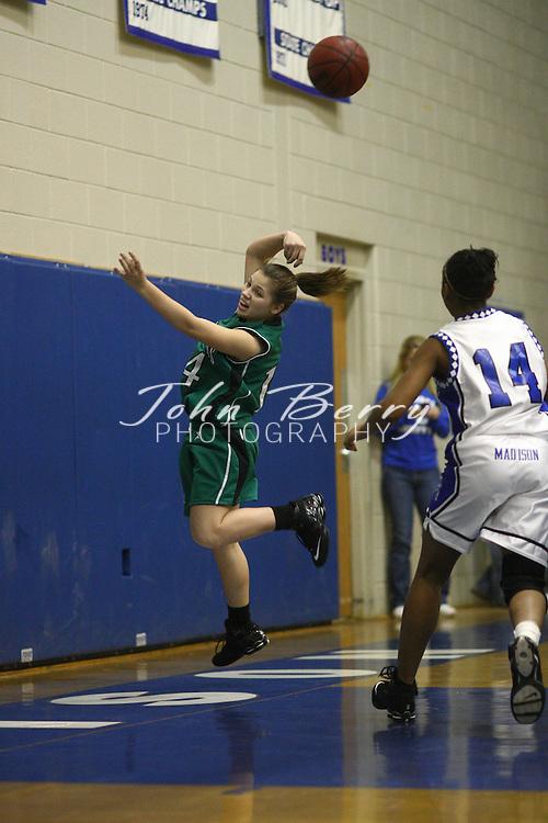 MCHS Varsity Girls Basketball.vs Greene.12/22/2007.