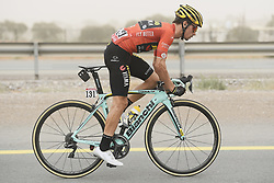 March 1, 2019 - Dubai, Emirati Arabi Uniti - Foto LaPresse - Fabio Ferrari.01 Marzo 2019 Dubai (Emirati Arabi Uniti).Sport Ciclismo.UAE Tour 2019 - Tappa 6 - da Ajman a Jebel Jais - 180 km.Nella foto: durante la gara ROGLIC Primoz(SLO)TEAM JUMBO - VISMA..Photo LaPresse - Fabio Ferrari.March 01, 2019 Dubai (United Arab Emirates) .Sport Cycling.UAE Tour 2019 - Stage 6 - From Ajman To Jebel Jais  - 112 miles..In the pic: during the race. ROGLIC Primoz(SLO)TEAM JUMBO - VISMA (Credit Image: © Fabio Ferrari/Lapresse via ZUMA Press)
