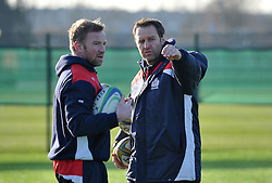 Sean Marsden and Mark Irish of Bristol Rugby Academy - Mandatory by-line: Paul Knight/JMP - 21/01/2017 - RUGBY - SGS Wise Campus - Bristol, England - Bristol Academy U18 v Saracens Academy U18 - Premiership Rugby Academy U18 League
