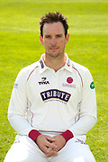 County Championship kit portrait of Jim Allenby during the Somerset County Cricket Club PhotoCall 2017 at the Cooper Associates County Ground, Taunton, United Kingdom on 5 April 2017. Photo by Graham Hunt.