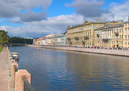 The Griboedov canal and surrounding<br /> palaces in St. Petersburg, Russia<br /> c. Ellen Rooney