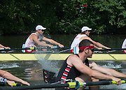 Henley. Great Britain. Thames Challenge Cup, Mercantile RC AUS.  175th  Henley Royal Regatta, Henley Reach. England. 09:39:38  Wednesday  02/07/2014. [Mandatory Credit; Peter Spurrier/Intersport-images]
