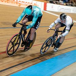 27-12-2019: Wielrennen: NK Baan: Alkmaar<br />Mathijs Buchli en Harry Lavreyssen