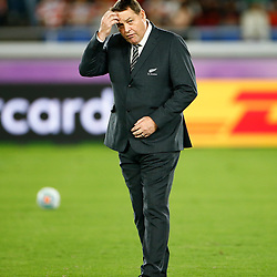 Steve Hansen All Blacks Head Coach of New Zealand (All Blacks) during the Rugby World Cup Pool B match between New Zealand and South African at the International Stadium Yokohama,Yokohama City September 21 2019 (Mandatory Byline Steve Haag Sports Hollywoodbets)