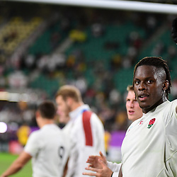 Maro ITOJE of England celebrates following the Rugby World Cup 2019 Quarter Final match between England and Australia on October 19, 2019 in Oita, Japan. (Photo by Dave Winter/Icon Sport) - Maro ITOJE - Oita Stadium - Oita (Japon)