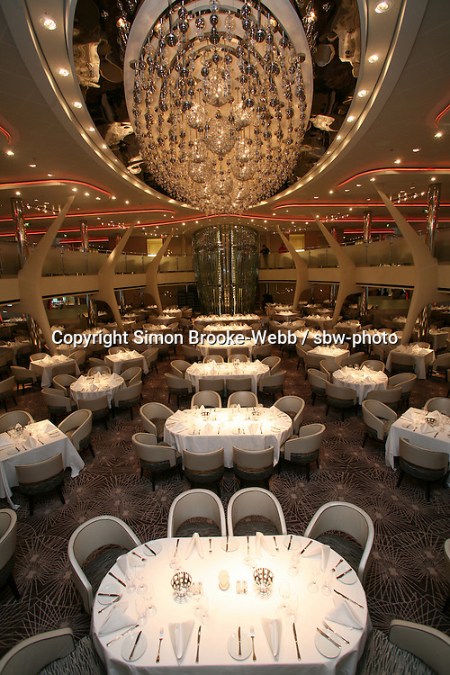 Celebrity Solstice in Hamburg..Grand Epernay Dining Room.