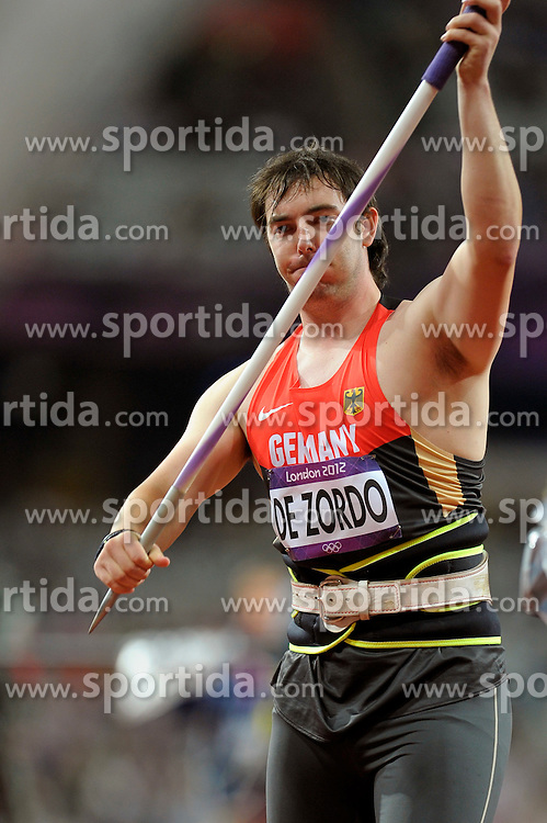 Olympic Games London 2012,.Germany's Matthias de Zordo (GER).© pixathlon