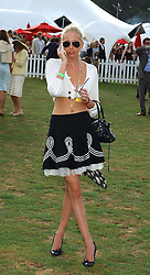 The HON.SOPHIA HESKETH at the 2005 Cartier International Polo between England & Australia held at Guards Polo Club, Smith's Lawn, Windsor Great Park, Berkshire on 24th July 2005.<br />
