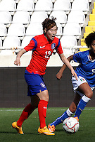 Fifa Womans World Cup Canada 2015 - Preview //<br /> Cyprus Cup 2015 Tournament ( Gsp Stadium Nicosia - Cyprus ) - <br /> South Korea vs Italy 1-2 , Yoo Younga of South Korea