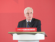 John McDonnell speech on the progressive case for staying in the EU<br />  <br /> Labour&rsquo;s Shadow Chancellor, John McDonnell MP, will gave a key note speech on the upcoming EU referendum that will set out the progressive case for staying in the EU and also the economic benefits of remaining in.<br /> <br /> 17th May 2016.<br /> Council Chamber, TUC, Congress House, London, Great Britain <br />  <br /> <br /> Photograph by Elliott Franks <br /> Image licensed to Elliott Franks Photography Services