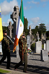 State marks centenary of O&rsquo;Donovan Rossa funeral.<br /> <br />  First State commemoration to be held as part of the Ireland 2016 Centenary Programme.<br /> <br />  <br /> <br /> President Michael D. Higgins will today (Saturday) lead the official State commemoration of the centenary of the funeral of Jeremiah O&rsquo;Donovan Rossa in Glasnevin Cemetery, Dublin.<br /> <br />  <br /> <br /> The event, which is being hosted by the Minister for Arts, Heritage and the Gaeltacht, Heather Humphreys TD, is the first formal State commemoration being held as part of the Ireland 2016 Centenary Programme.  <br /> <br />  <br /> <br /> An Taoiseach, Enda Kenny T.D. who will also attend, said, &ldquo;Jeremiah O&rsquo;Donovan Rossa was an iconic figure in Irish history.  Even one hundred years after his death his name is synonymous with the Fenians and with Irish Nationalism.  The liberation of his country became his life&rsquo;s ambition.  His funeral remains one of the pivotal moments in Irish history and was an occasion that would be hugely instrumental in shaping the future of our nation.&rdquo;<br /> <br />  <br /> <br /> Minister Humphreys added:<br /> <br /> &ldquo;Today marks the official start of the ceremonial calendar in our Ireland 2016 Centenary Programme, which is leading up to the commemoration of the 1916 Rising in Easter of next year. The funeral of Jeremiah O&rsquo;Donovan Rossa, which took place here in Glasnevin Cemetery 100 years ago today, acted as a catalyst in the lead up to the Rising. The now famous graveside oration, given by P&aacute;draig Pearse, left a lasting impact and travelled far beyond the confines of this cemetery.<br /> <br />  <br /> <br /> &ldquo;Over the coming year, we will hold more than 40 State events as we commemorate the events of 1916, consider our achievements over the last 100 years, and look ambitiously to the future. The funeral of O&rsquo;Donovan Rossa was a milestone in Irish history and its impact on the mood and motivations of those in attendance cannot be underestimated. Ireland 2016 is a wide programme of events which will be underpinned by appropriate and respectful commemorations to reflect on the even