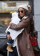 Exclusive! Ciara & Baby Future Take The Train